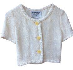 Vestes Chanel Petite veste manches cou
