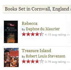 Books set in Cornwall