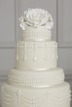 white tiffany pearl - Peggy Porschen