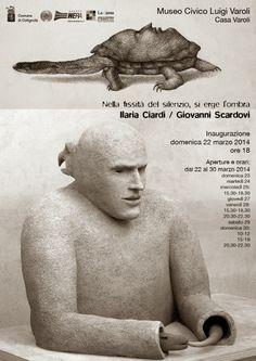 Fino al 30 marzo nella casa-studio di Luigi Varoli,  le sculture di Giovanni Scardovi e i disegni di  Ilaria Ciardi dialogano con le collezioni e i fantasmi  della casa-museo
