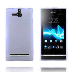 Soft Shell - Matt Transparent (Hvit) Sony Xperia U Deksel