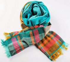 hand woven 100% cotton with natural dye.
