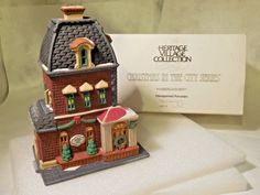 Dept 56 Heritage Village Collection Christmas In The City Haberdashery #5531-0
