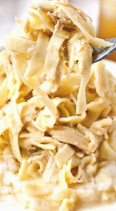 Homemade Amish Chicken and Noodles