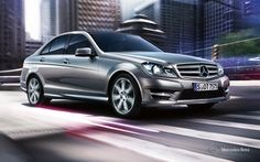Mercedes-Benz C-Class Sedan. Fuel consumption combined: 12,0-4,1 l/100km, CO2 emissions combined: 280-109 g/km.  #MBCars