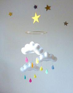 mobile nuages pluie