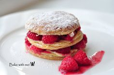 Bake with Me :: Raspberry Mini Mille-Feuille
