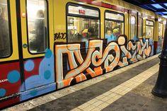 Graffiti on Trains,  S-Bahn Berlin
