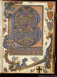 Psalter, MS M.100 fol. 7r - Images from Medieval and Renaissance Manuscripts…