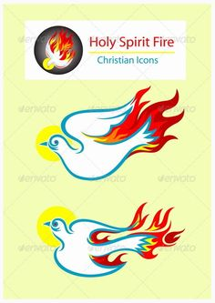Holy Spirit Icons - Party Flyer Templates For Clubs Business & Marketing