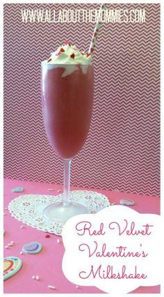 Red Velvet Milkshake: Perfect for Valentine's Day