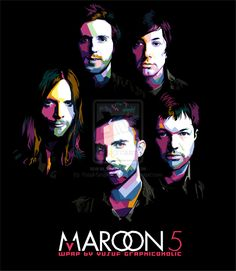 MAROON FIVE - MY FOREVER FAVORITE BAND PERIOD !!