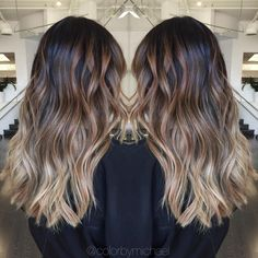 """Balayage ombre on level 1 asian hair..."""