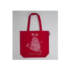 #Tote #bag en coton #bio de la nouvelle collection Auguste #Rodin par la marque Coq en Pâtes Prix 28 euros TTC