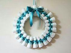Diaper wreaths!