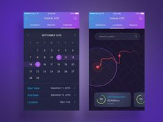 Logistics App Screens - Vehicle XOS