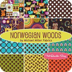 Norwegian Woods Yardage Michael Miller Fabrics - Fat Quarter Shop