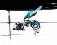 Plans to upload the brain of a honeybee into a flying robot by 2015