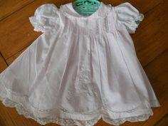 Size 3 months Vintage Feltman Baby Newborn Infant by LittleMarin,