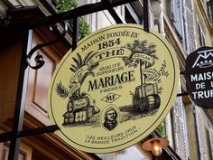 Mariage Frères is a French gourmet tea company, based in Paris. It was founded on 1 June 1854 by brothers Henri and Edouard Mariage. | Flickr: Intercambio de fotos