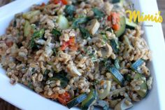 Italian Farro Salad - Mimi's Fit Foods   Yummy Healthy Meatless Meal or Side Dish