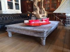 Large Antique Coffee Table Antique Coffee Tables, Large Coffee Tables, Antiques, Furniture, Home Decor, Antiquities, Antique, Decoration Home, Room Decor