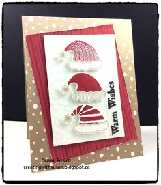 LOVE this new stamp and punch combo from Stampin' Up! called Jolly Friends.