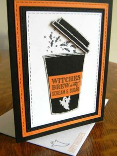 Brewing Screams And Bats by Gail-Maggie - Cards and Paper Crafts at Splitcoaststampers