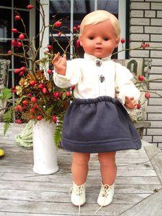 Traumhafte sonnenbraune Schildkröt Puppe Christel 41-45cm aus 30er-50er Jahre | eBay