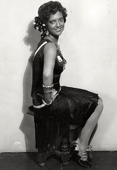 "Actress Nina Mae McKinney, dubbed ""The Black Garbo"" in Europe, was one of the first African-American film stars in the United States and was one of the first African Americans to appear on British television."