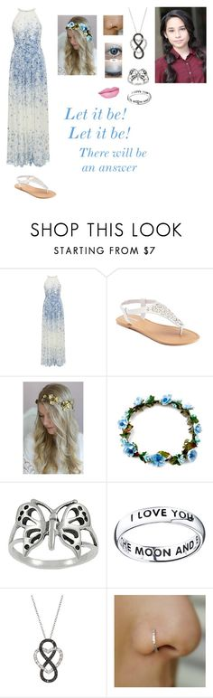 """""""Andrea Anderson-Let It Be-Glee OC"""" by silverbellatrix ❤ liked on Polyvore featuring Hobbs, SONOMA Goods for Life, Twigs & Honey, Journee Collection, Bridge Jewelry and Anastasia Beverly Hills"""