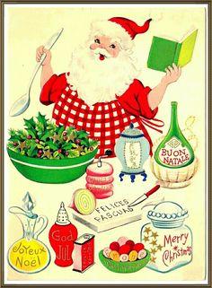Santa in The Kitchen