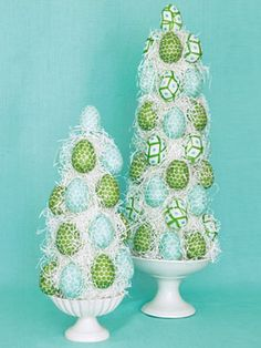 Easter Craft How-to: Egg Topiary