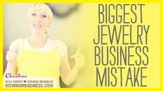 How to Start a Jewelry Business - Biggest Mistake Jewelry Sellers Make | Renae Christine