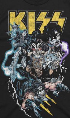 Kiss World, Kiss Rock Bands, Hippie Wallpaper, Kiss Art, Kiss Pictures, Band Wallpapers, Best Kisses, Circus Art, Hot Band