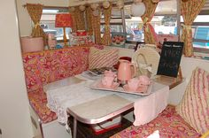 Glamping Trailers Interiors | ... glamping at sun lakes http cheneybaglady blogspot com 2013 05 glamping