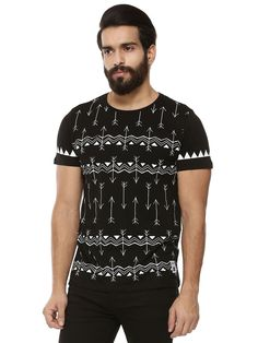 Pull&Bear T-Shirt with All Over Floral Print | Tees | Pinterest