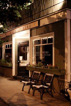 Mache Bistro Bar Harbor Restaurants  135 Cottage St., Bar Harbor, Maine  207-288-0447