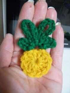 Free Crochet Pineapple Fridgie - Orble