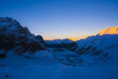 Val Veny Climbing to the Mont Blanc 4810m from Italy, val Veny, Courmayer