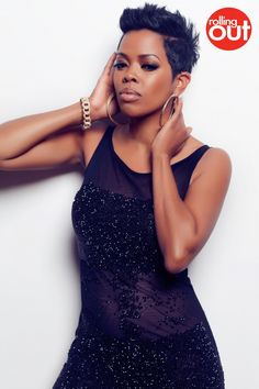Malinda Williams - hair, makeup & outfit on point! Chic Hairstyles, Pixie Hairstyles, Short Haircuts, Pixie Styles, Short Styles, Coiffure Hair, Short Sassy Hair, Cute Cuts, Hair Affair