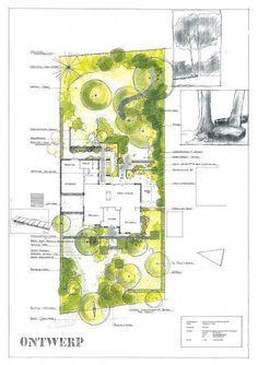 Trendy Landscaping Architecture Sketch Garden Design Ideas - New ideas Landscape Sketch, Landscape Design Plans, Garden Design Plans, Landscape Architecture, Planer Layout, Raised Bed Garden Design, Front Yard Design, Front Yard Landscaping, Garden Planning