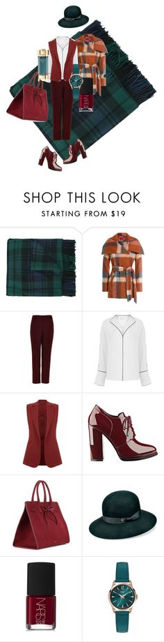 """modern muse"" by tenuanet ❤ liked on Polyvore featuring Dsquared2, HUGO, TIBI, Theory, GUESS, Mansur Gavriel, Karen Kane, NARS Cosmetics, Henry London and Estée Lauder"