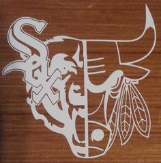 Chicago Bears Bulls White Sox Blackhawks decal free by DecalDen