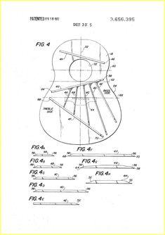 Ovation Guitar Construction 1970 Patent