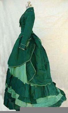 1872 Day dress www.madamebridal.com
