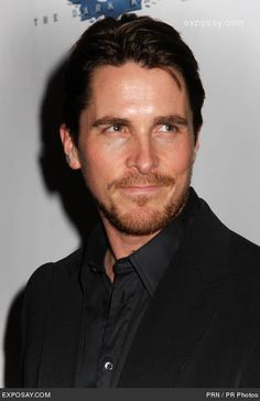 Christian Bale...handsome, talented and, hands-down, the best Bruce Wayne/Batman ever.