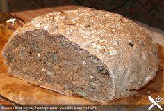 Weizen - Vollkorn - Brot mit Hefe (1 EL gemischtes Hildegard von Bingen - auf 2…