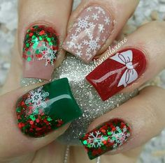 Christmas Acrylic Nails 2017 - Beautiful Nails Acrylic Design for Christmas 2017 12 - Beautiful Nails Acrylic Design for Xmas Nails, Red Nails, Christmas Nails, Christmas 2017, Christmas Crafts, Christmas Ideas, Christmas Parties, Christmas Carol, Acrylic Nails 2017