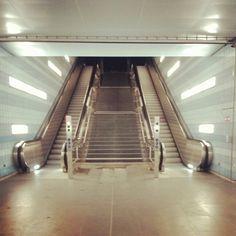 Rolltreppen in der Hafencity